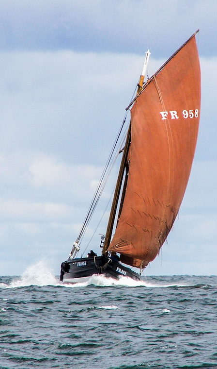 Reaper Under Sail in Moray Firth 2007