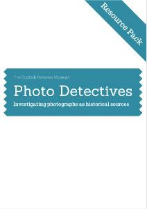 Photo Detectives Resource Pack Cover