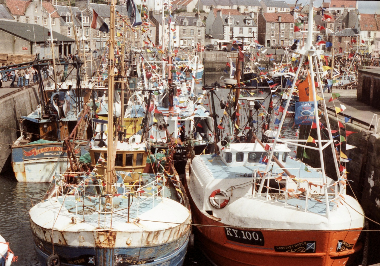 Boats, Fish and Folk: 50 years of Scottish fishing