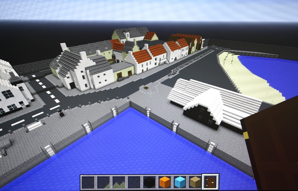 Build the Museum in Minecraft